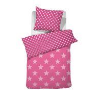 Damai dekbedovertrek Starville pink 140x220 cm