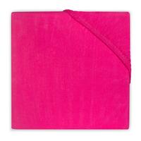 Ledikanthoeslaken Jersey fuchsia 70 x 150 cm Jollein