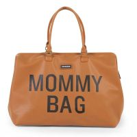 Mommy Bag Leatherlook Bruin Childhome
