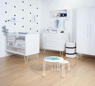 babykamer wit
