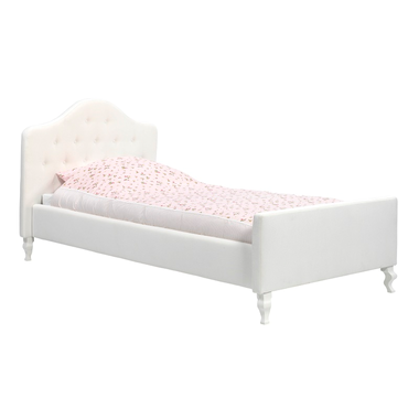 Gestoffeerd bed met knopen Yara Coming Kids
