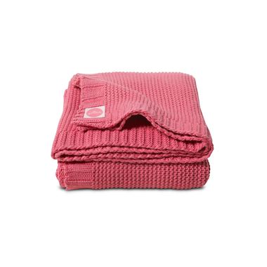 Deken 75x100cm Chunky knit raspberry Jollein
