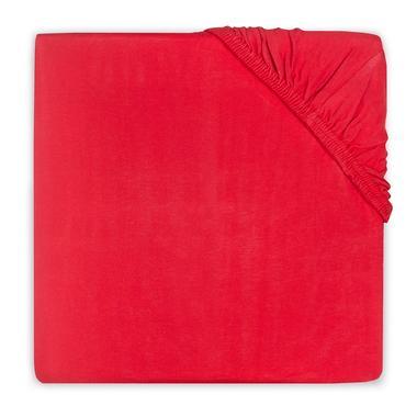 Wieghoeslaken Jersey rood 40 x 80cm Jollein