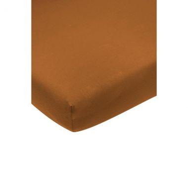 Hoeslaken Jersey Camel 70x140/150cm